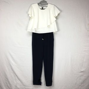 Ted Baker Frille Two Layer Jogger Jumpsuit